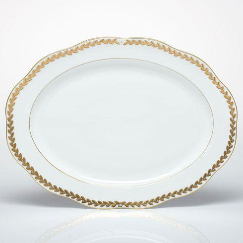 Herend  Golden Laurel Oval Platter $560.00