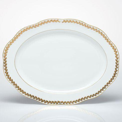 Herend Collections Golden Laurel Oval Platter $560.00