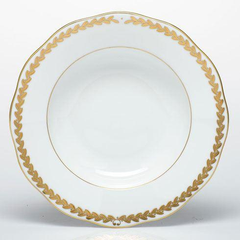 Herend  Golden Laurel Rim Soup Plate $165.00