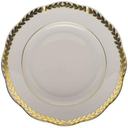 Herend  Golden Laurel Bread & Butter Plate $110.00