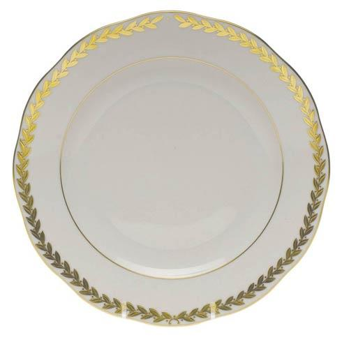 Herend  Golden Laurel Dessert Plate $170.00