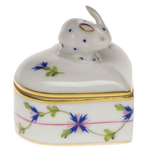 $115.00 Heart Box W/Bunny