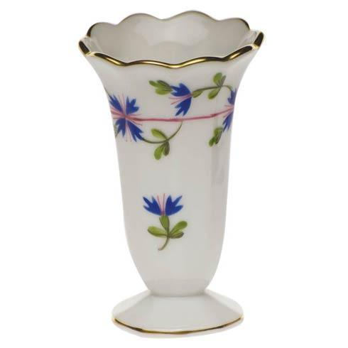 Herend Collections Blue Garland Scalloped Bud Vase $65.00