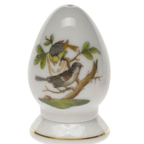 Herend  Rothschild Bird Pepper Shaker Single Hole $85.00