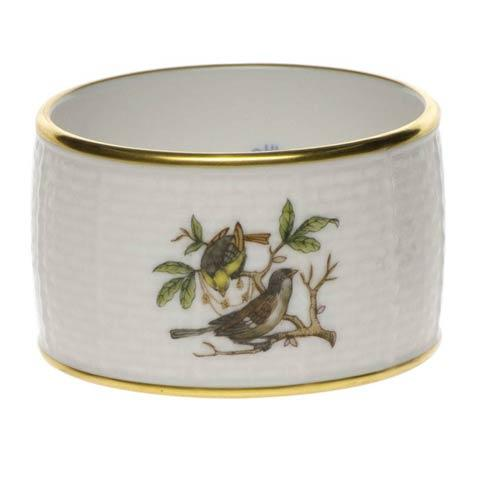 Herend Rothschild Bird Original (no border) Napkin Ring $80.00