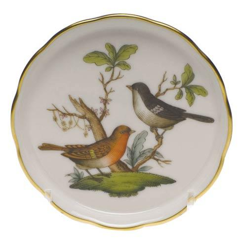 Herend Rothschild Bird Original (no border) Coaster - Motif 05 $65.00
