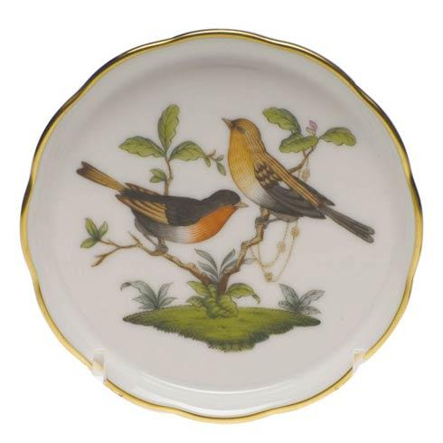 Herend Collections Rothschild Bird Coaster - Motif 09 $65.00
