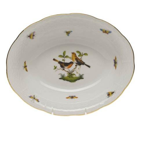 Herend Collections Rothschild Bird Oval Veg Dish $275.00