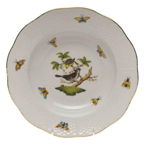 Herend Rothschild Bird Original (no border) Rim Soup Plate - Motif 01 $165.00