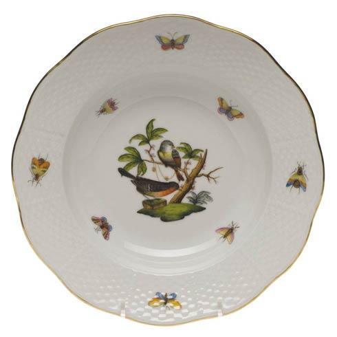 Rim Soup Plate - Motif 02