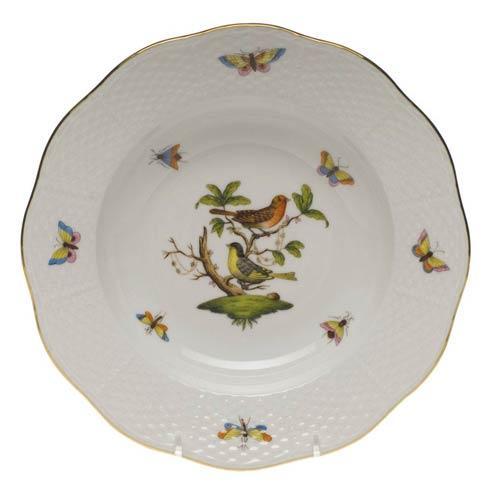 Rim Soup Plate - Motif 03