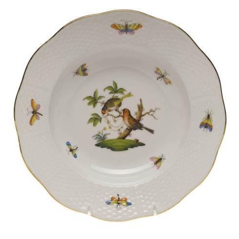 Rim Soup Plate - Motif 10