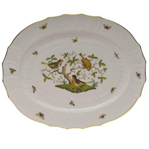 Herend Rothschild Bird Original (no border) Turkey Platter $880.00