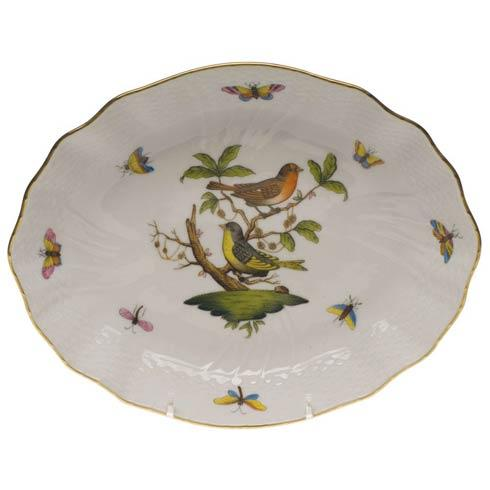Herend Rothschild Bird Original (no border) Oval Dish $200.00