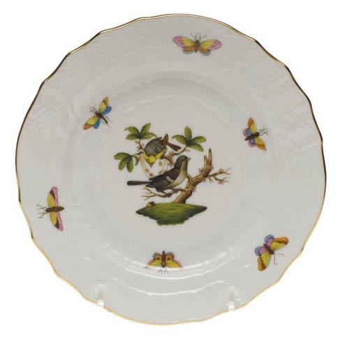 Herend Rothschild Bird Original (no border) Bread & Butter Plate - Mo 01 $110.00