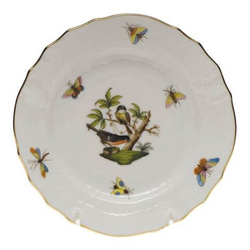 Herend Rothschild Bird Original (no border) Bread & Butter Plate - Mo 02 $110.00