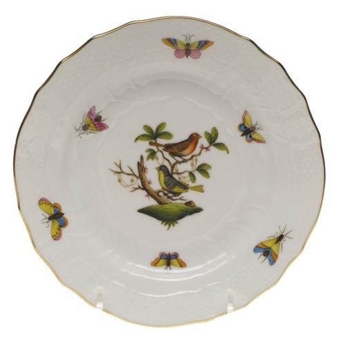 Herend Rothschild Bird Original (no border) Bread & Butter Plate - Mo 03 $110.00