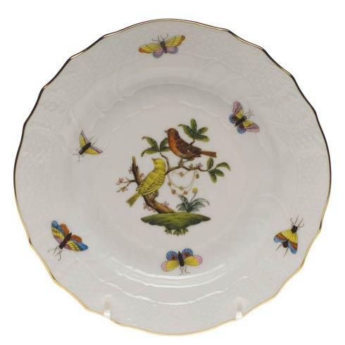 Herend Rothschild Bird Original (no border) Bread & Butter Plate - Mo 06 $110.00