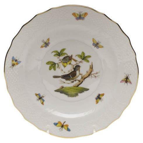 Herend Rothschild Bird Original (no border) Salad Plate - Motif 01 $130.00