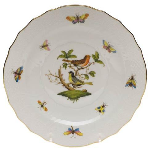Herend Rothschild Bird Original (no border) Salad Plate - Motif 03 $130.00