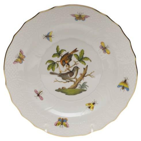 Herend Rothschild Bird Original (no border) Salad Plate - Motif 04 $130.00