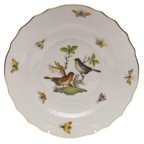 Herend Rothschild Bird Original (no border) Salad Plate - Motif 05 $130.00