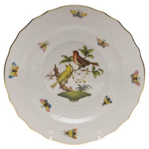 Herend Rothschild Bird Original (no border) Salad Plate - Motif 06 $130.00