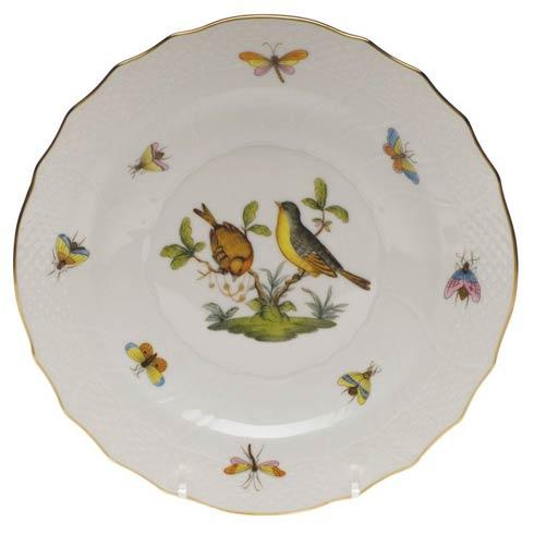 Herend Rothschild Bird Original (no border) Salad Plate - Motif 07 $130.00