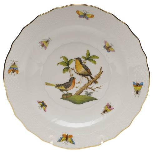 Herend Rothschild Bird Original (no border) Salad Plate - Motif 08 $130.00