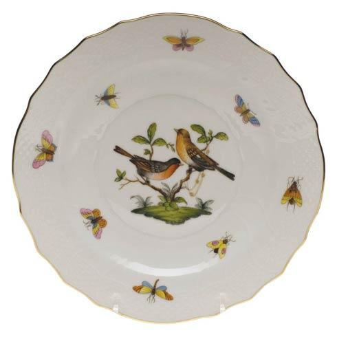 Herend Rothschild Bird Original (no border) Salad Plate - Motif 09 $130.00