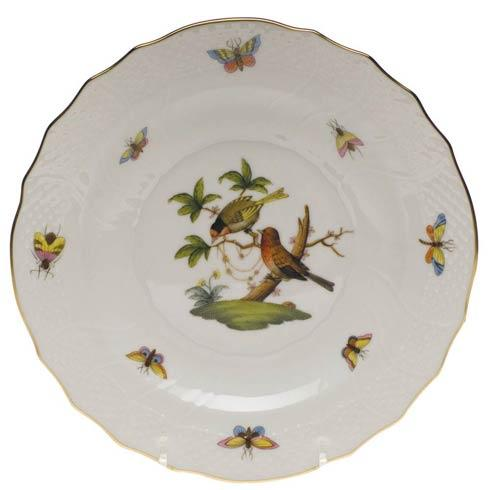 Herend Rothschild Bird Original (no border) Salad Plate - Motif 10 $130.00