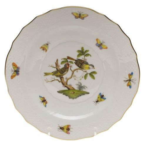 Herend Rothschild Bird Original (no border) Salad Plate - Motif 11 $130.00