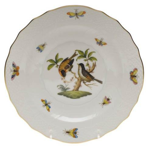 Herend Rothschild Bird Original (no border) Salad Plate - Motif 12 $130.00