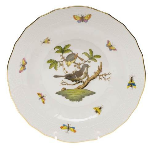 Herend Rothschild Bird Original (no border) Dessert Plate - Motif 01 $165.00