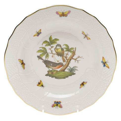 Herend Rothschild Bird Original (no border) Dessert Plate - Motif 02 $165.00