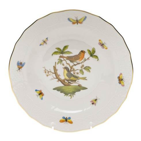 Herend Rothschild Bird Original (no border) Dessert Plate - Motif 03 $165.00