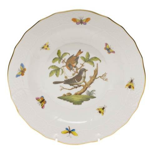 Herend Rothschild Bird Original (no border) Dessert Plate - Motif 04 $165.00