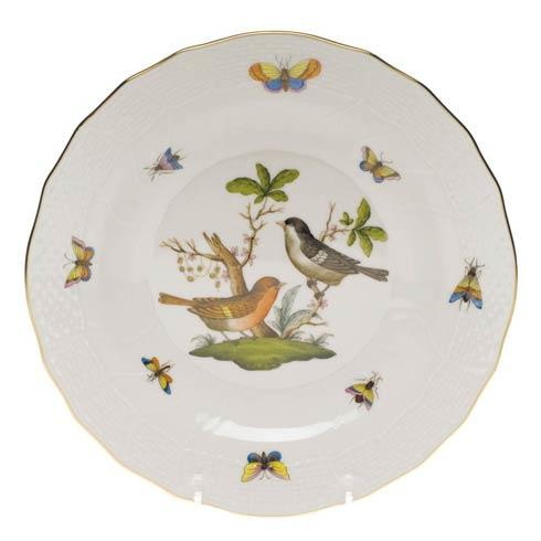 Herend Rothschild Bird Original (no border) Dessert Plate - Motif 05 $165.00