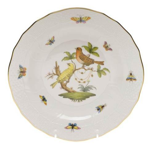 Herend Rothschild Bird Original (no border) Dessert Plate - Motif 06 $165.00