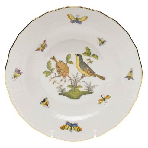 Herend Rothschild Bird Original (no border) Dessert Plate - Motif 07 $165.00