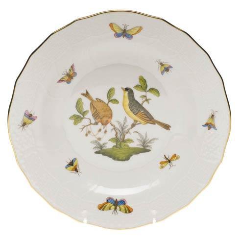 Herend  Rothschild Bird Dessert Plate - Motif 07 $165.00
