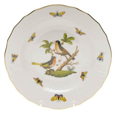 Herend Rothschild Bird Original (no border) Dessert Plate - Motif 08 $165.00