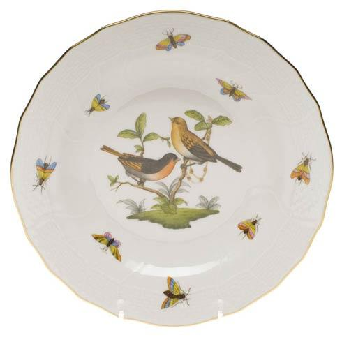 Herend Rothschild Bird Original (no border) Dessert Plate - Motif 09 $165.00