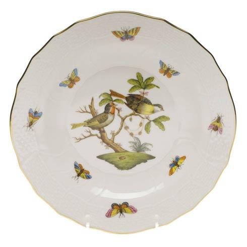 Herend Rothschild Bird Original (no border) Dessert Plate - Motif 11 $165.00