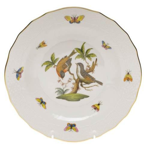 Herend Rothschild Bird Original (no border) Dessert Plate - Motif 12 $165.00