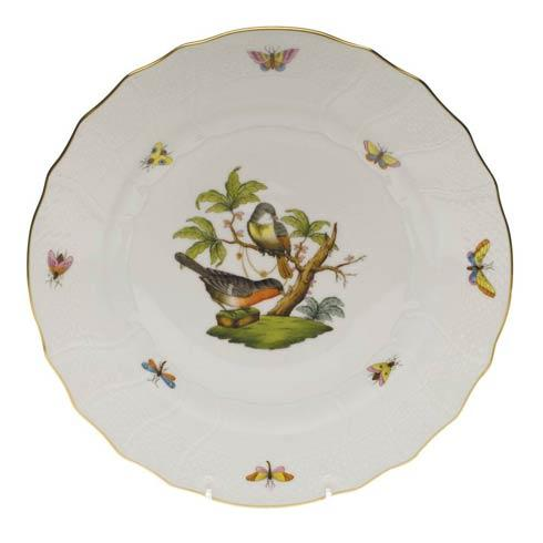 Herend Rothschild Bird Original (no border) Dinner Plate - Motif 02 $175.00