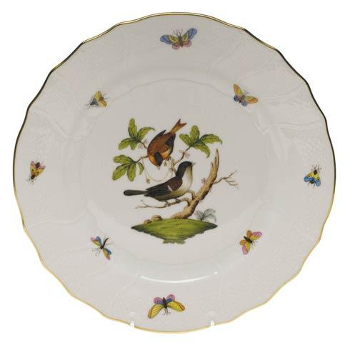 Herend Rothschild Bird Original (no border) Dinner Plate - Motif 04 $175.00