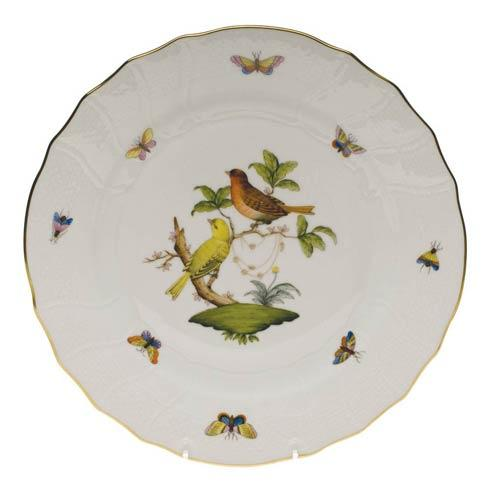 Herend Rothschild Bird Original (no border) Dinner Plate - Motif 06 $175.00