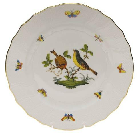 Herend Rothschild Bird Original (no border) Dinner Plate - Motif 07 $175.00