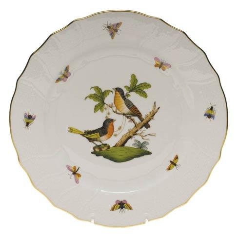 Herend Rothschild Bird Original (no border) Dinner Plate - Motif 08 $175.00